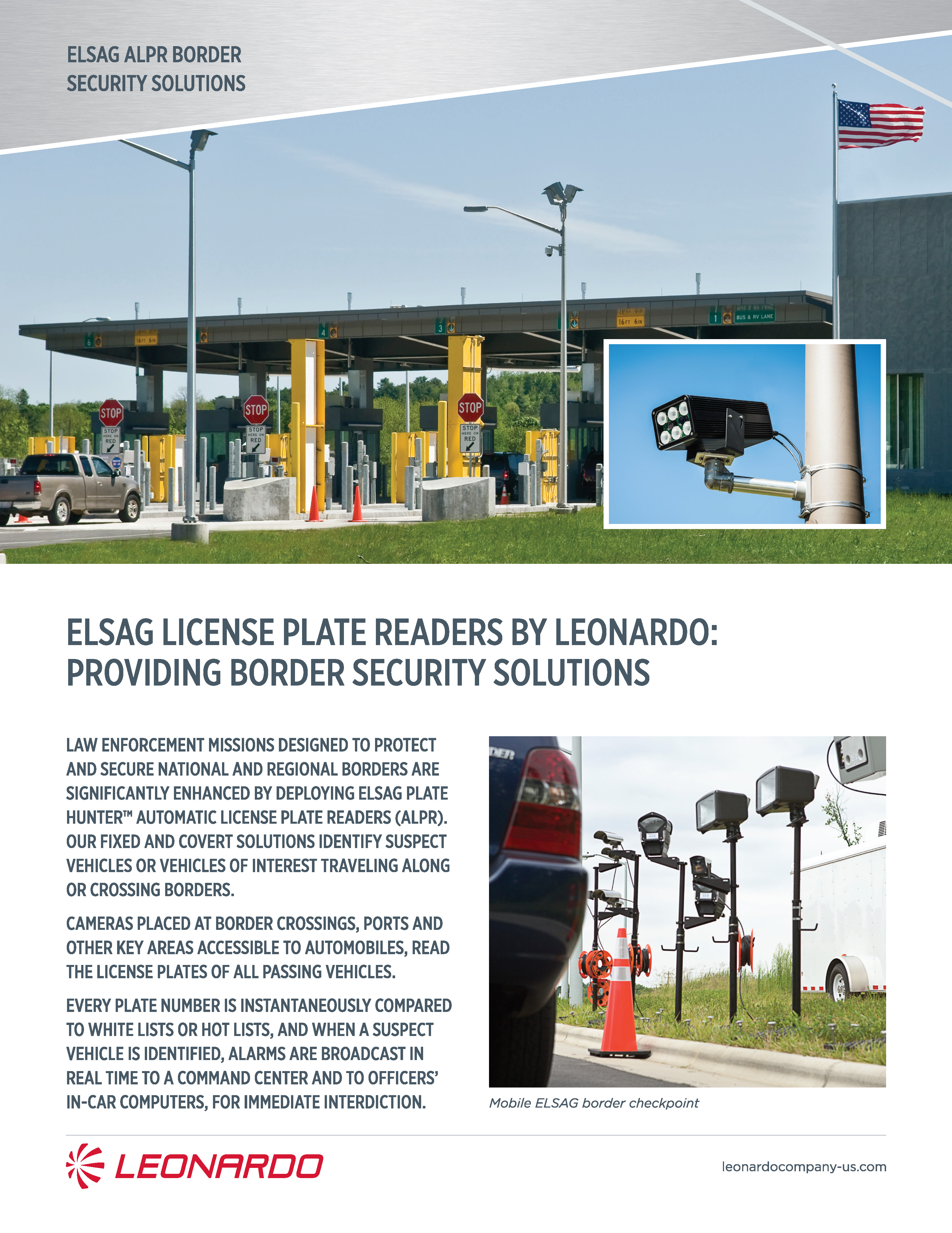 plate hunter for border security product sheet