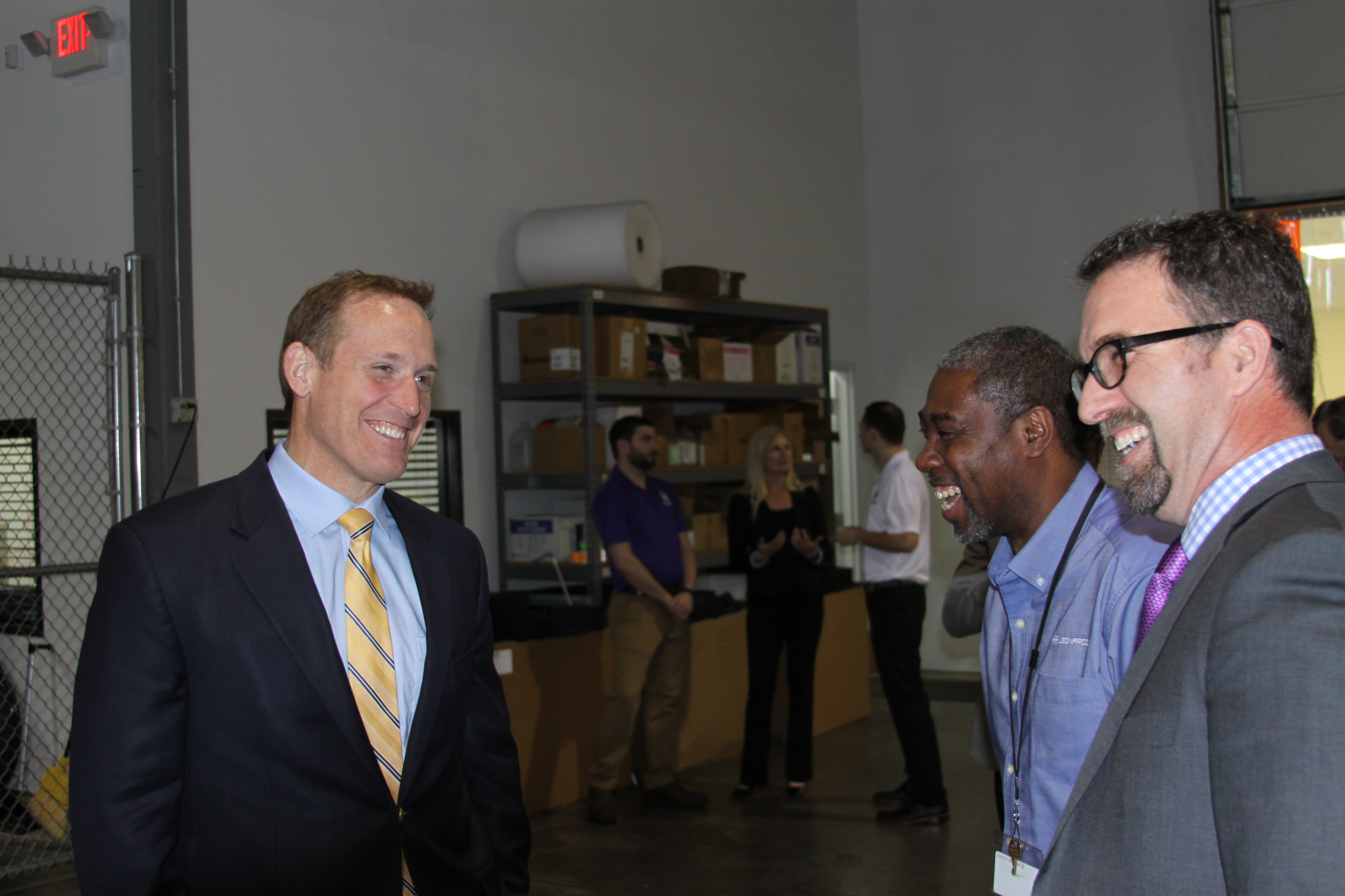 Congressman Ted Budd Visits Leonardo