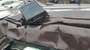 Mobile ALPR camera still functional after wreck