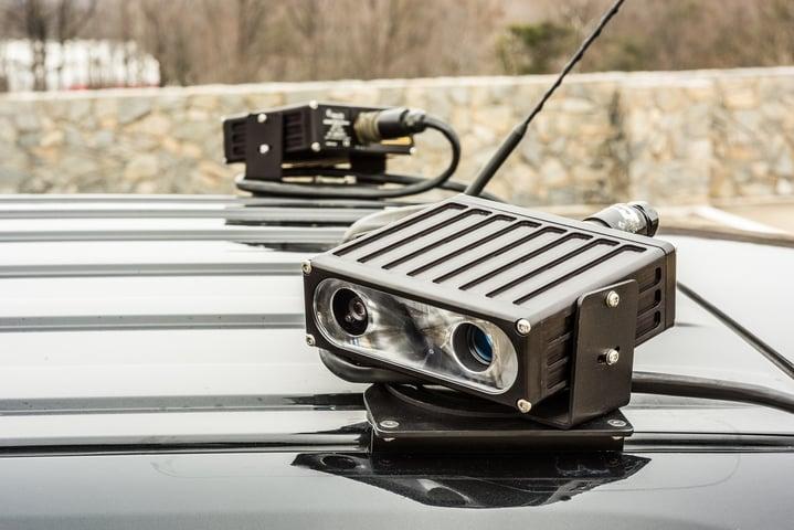 Mobile ALPR camera